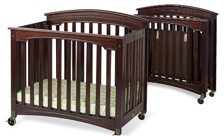 Folding Wood Cribs