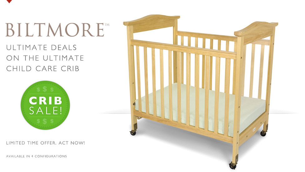 Biltmore - Ultimate Deals on the Ultimate Child Care Crib