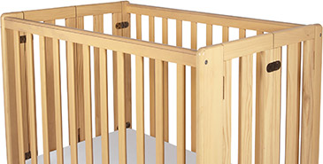 Storable Wood Cribs