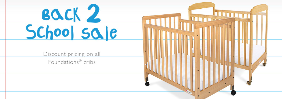Discount pricing on all cribs