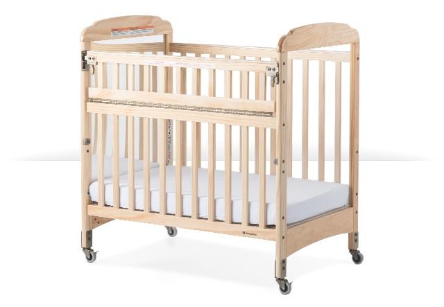 Next Gen Serenity Safereach Compact Mirror Crib Natural