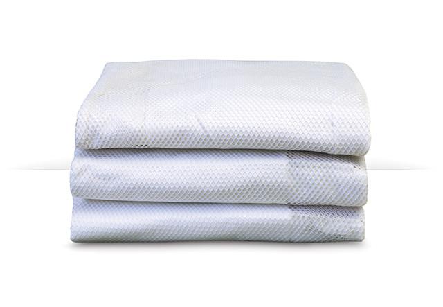 SnugFresh™ Fashion Crib Covers - White 3-Pack