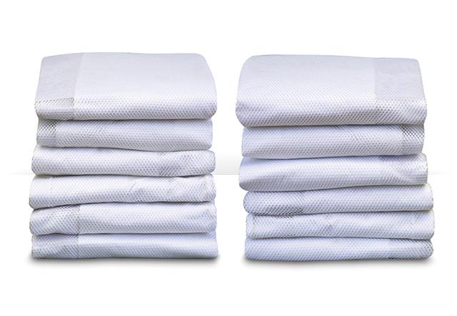 SleepFresh™ Fashion Crib Covers - White 12-Pack