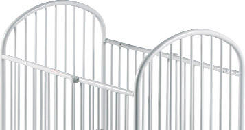 Storable Steel Cribs