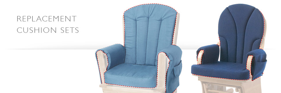 glider rocker cushions - Gliding Rocking Chair