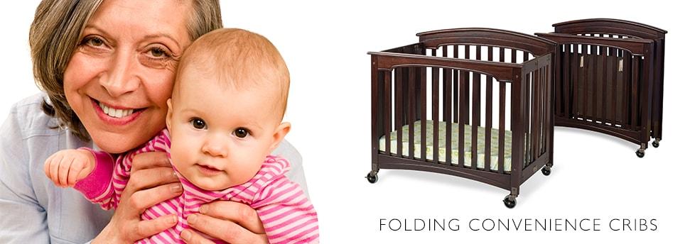 Foundations convenient folding cribs