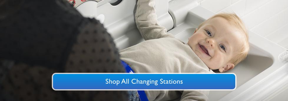 Infant Changing Station for Public Restrooms