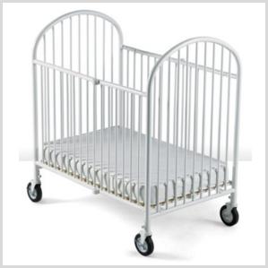 Pinnacle compact steel crib