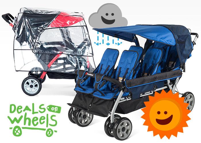 Deals on Wheels stroller sale