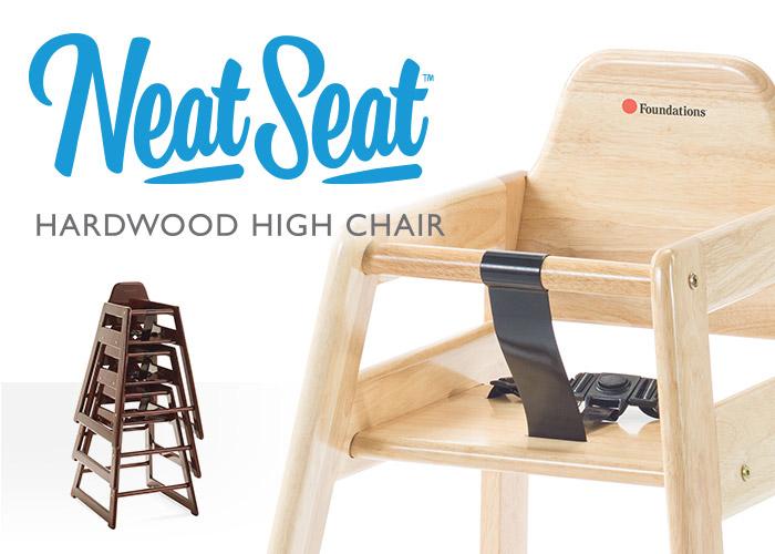 Neat Seat Hardwood High Chair