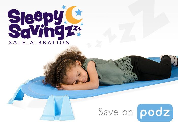 Sleepy Savings, save on Podz cots