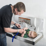 DIAPER CHANGING STATION - GOING VIRAL FOR DADS