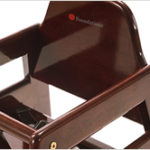 NeatSeat-Wood High Chair with Rounded Edges