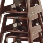 Neat Seat Stackable Wood High Chair