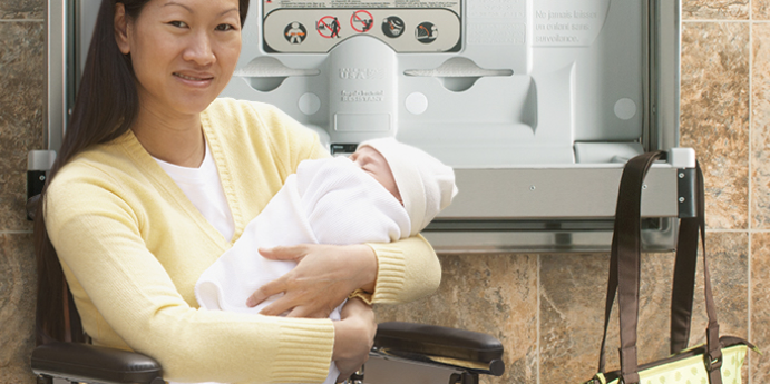 Foundations ADA Complaint Baby Changing Stations