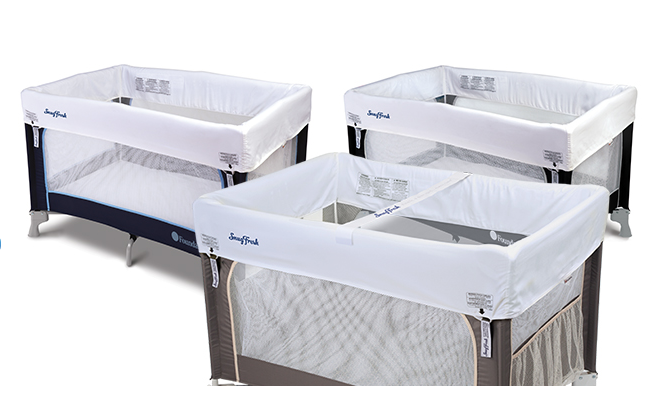 Offer a baby travel playard in addition to quality cribs from Foundations.