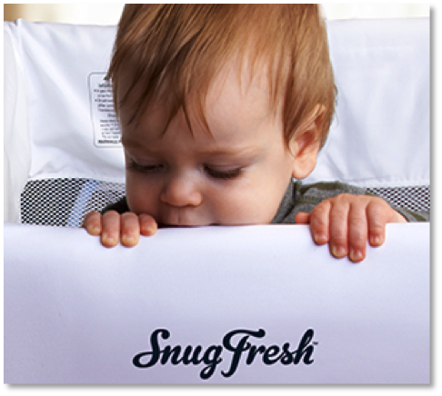 Baby travel playards for hotels are easy to clean.